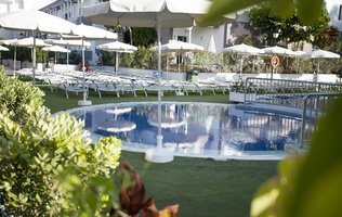 Jardín Hotel Coral Compostela Beach Golf