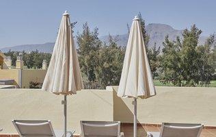 terraza solárium Hotel Coral Compostela Beach Golf